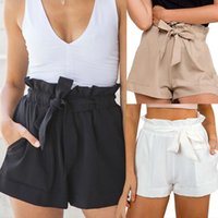 Hot Summer Casual Shorts Beach Vita alta Breve Fashion Lady Women drop shipping vestiti donna di buona qualità