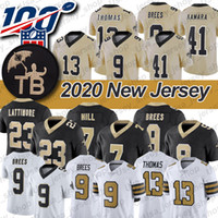 Colegio Michael Thomas Jersey 6 Alvin Drew Brees Kamara 15 7 Taysom Hill 2 Marshon Lattimore TB Patch jerseys