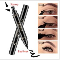 Winger Eyeliner with Double- Header Design Stamp Thick Black ...