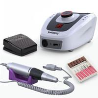 Электрические ногтей сверлильный станок 32W 35000RPM Nail Art оборудование Manicure машины Аксессуар Electric File Сверло Tool