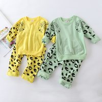 Bailiwieni autumn cotton medium children' s leopard prin...