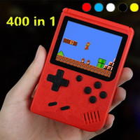 Мини портативная игровая консоль для игры в ретро портативный видеоигр консоль может хранить 400 игр 8 бит 3,0 дюйма красочных ЖК-дизайн LCD Craadle.