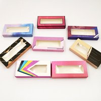 NEW 10 set lot Packing box for eyelash package paper box col...