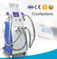 Самое новое 3 cryo регулирует lipo Cryo Cryotherapy холодное формируя неподвижный тип cryolipolysis ваяя машину 800W ультразвуковой вакуум lipo