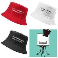3 novos cor fazem América grande novamente Donald Trump chapéu de balde chapéus de sol pescador chapéu de praia chapéu da forma chapéus do partido Ball Caps T2C5046