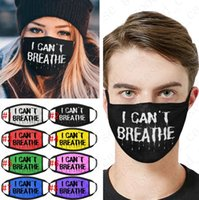 Hot I Can' t Breathe Print Face Mask Sunproof Cycling Mo...