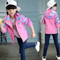 Autumn Children' s Clothing Baby Girl Coat New Casual Co...