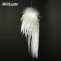 Design moderno Icarus luminária Projetado pelo Studio Tord Boontje Icarus da asa do anjo de suspensão Luz Office Store Restaurante Hotel Salão Bar