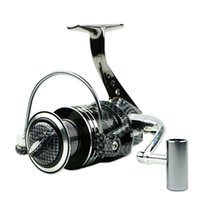 금속 회전 낚시 릴 13BB BA1000-7000 시리즈 기어 5.5 : 1 물고기 휠 바닷물 Carretilha PESCA 낚시 태클