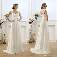 Bridesmaid Dresses 2019 Sheer Neck Capped Sleeve A Line Long...