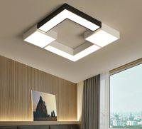 Площадь металл Лампа плафон Avize светильник 110V 220V Современный светодиодной потолочные светильники для гостиной Спальни LLFA