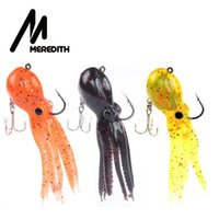 Meredith FISHING 23g 9cm long tail soft lead Octopus fishing...