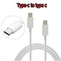 Cables tipo C a USB Cable de carga rápida tipo C PD Para Xiaomi Huawei 3A Carga rápida USBC para Note 10 s10 plus