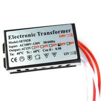 AC 110V için 12V Elektronik Trafo Halojen Modülü Güç Kaynağı Dönüştürücü 60w Elektronik Trafo