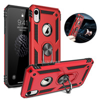 Anello Holder ibrida Armatura per l'iPhone 12 Mini 11 Pro Max XS XR 7 8 Inoltre Samsung S20 Fe 4G 5G