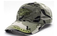Fashion outdoor men and women camouflage baseball cap wash v...