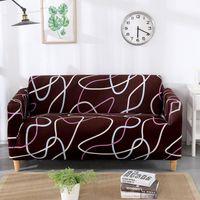 거실 의자 커버 소파 L 모양의 새로운 스트레치 Slipcovers 단면 탄성 스트레치 소파 커버 안락 의자 커버 4 인승 235-300cm