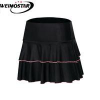 WeiMostar Женщины Велосипедные Шорты Верхняя дорожка Велосипед Шорты 4D GEL Pad Black Downpant Downhill MTB Велосипеда Короткая юбка Maillot