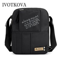 IVOTKOVA Vintage Men' s Messenger Bags Nylon Shoulder Ba...