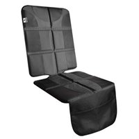 Car Seat Protector - Rembourrage épais pour bébé renforcé Piquer les bords, Anti-Slip Sauvegarde supplémentaire Grip poches filet de rangement