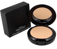 Nova maquiagem NC Cores Pó compacto com Puff 15g marca de beleza Cosméticos Pressionado Fundação Face Powder Top qualidade do presente