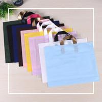 Sacos de compras 5 pcs Fashion Protable com alças Roupas de varejo Reusável Pretericer Boutique Presente Take Out Bolsa