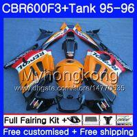 Cuerpo + Tanque para HONDA CBR 600 F3 FS CBR600FS CBR600 F3 95 96 289HM.40 CBR600RR CBR600F3 95 96 CBR 600F3 1995 1996 Repsol naranja caliente Carenado