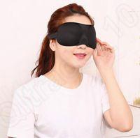 Masque de sommeil 3D masque de sommeil naturel cache oculaire ombre couverture Patch pour les yeux avec les yeux bandés Voyage Eyepatch 6 couleur 100pcs livraison gratuite