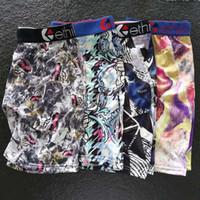 In magazzino Designer Designer ETHIKA Boxer Biancheria intima Pantaloncini da uomo Underwear maschile Uomo Uomo Boxer Underpants Comfortable Traspibile Cuecas Boxer S-XXL