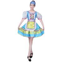 Vêtements ethniques Ejqyhqr Style Russe Robe traditionnelle Femmes Stage Broadway Show Costume Dance Robes Performances européennes Princess