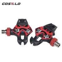 COSTELO Titan Carbon Pedals Road Bike Pedals Bicycle pedals ...