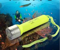 Immersioni subacquee Torcia lampada subacquea della torcia trasporto libero luce all'ingrosso XML XML impermeabile T6 1800LM LED