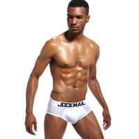 JOCKMAIL Marca los hombres la ropa interior boxer de algodón atractivo cuecas boxeadores para hombre de los calzoncillos de la ropa interior Hombre Gay calzoncillos niño varón se deslizan