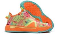 2020 PG 4 أحذية كرة السلة ناسا سوداء خفيفة دخان رمادي كرة قدم رمادي منقوشة PG4 Gatorade Stars Yakuda's Store Sneakers Shoe