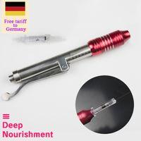 حرية التعريفة الجمركية إلى ألمانيا ارتفاع ضغط غير الغازية إزالة التجاعيد المياه حقنة إبرة الحقن الحرة hyaluron البخاخة هوالورون القلم