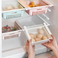 개폐식 냉장고 파티션 배수 과일 Storags 박스 냉장고 선반 홀더 서랍 형 스토리지 박스 분류 랙