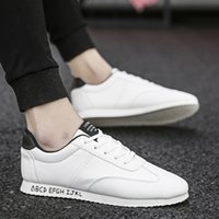 New black men' s shoes Korean version of the small white...