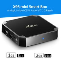 X96 Mini TV BOX S905W Quad Core Smart Box 1GB 2GB 8GB 16GB A...