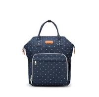 새로운 브랜드 패션 미라 출산 기저귀 가방 다기능 기저귀 가방 배낭 대용량 아기 가방 여행 내피 핸드백 방수