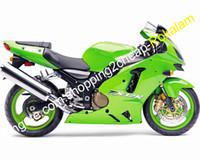 Kuiken Ninja ZX12R 2002 2003 2004 voor Kawasaki ZX-12R 02 03 04 ZX 12R GROENE ABS Plastic Motorcycle Kit (spuitgieten)