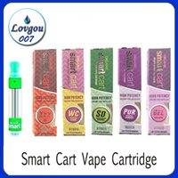 Smart Carts Vape Cartridges Ceramic Coil Vapor Tank 10 Flavo...