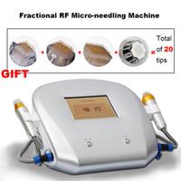 살롱 사용 분수 RF 마이크로 바늘 얼굴 리프트 4 가지 유형의 바늘로 가장 효과적인 마이크로 바늘 장비
