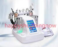 Yeni gelen! 10 in 1 HIFU RF Biyo kaldırma Spa Yüz Makine ultrasonik LED Cilt Gençleştirme Yüz Spa Makinesi Hidro dermabrazyon