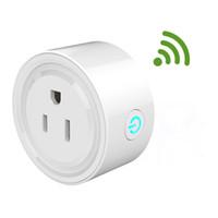Pratique WIFI Smart Plug Prise US Prise de synchronisation intelligente Prise de fonction de commande de prise sans fil pour prise domotique intelligente
