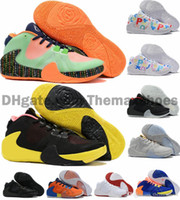2019 zapatos de baloncesto de la firma New Colorway ZOOM griega Freak 1 Giannis Antetokounmpo GA I 1S barato GA1 Deportes zapatillas de deporte Tamaño 40-46