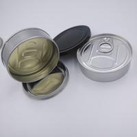 Botella vacía 3.5g latas de lata de sellado pre-sellado cubierta de tapa para hierbas secas Etiqueta personalizada prensada inteligente