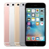 الأصل تجديد فون 6S 16GB 32GB 64GB 128GB ROM ثنائي النواة بصمة 12.0MP كاميرا الهاتف الذكي تجديد