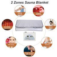 FIR sauna ad infrarossi corpo dimagrante Sauna termocoperta Terapia Slim Bag Sauna coperta termica perdita di peso corporeo Macchina del Detox per il salone