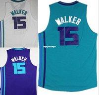 a5710394d03 2019 Retro 2019 Charlotte Basketball Hornets Jersey 15 Kemba Walker ...