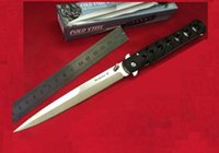 COLD STEEL 6inch Ti-Lite 26sxp Silber 440 Blättern faltendes Taschen-Messer-Überlebens-Messer-Weihnachts Messer Geschenk Messer 1pcs Adul